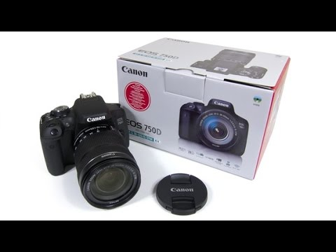 Canon EOS 750D Digital SLR Camera   Best Digital Camera Review